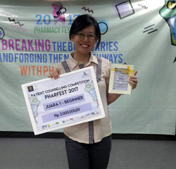 Farmasi USD Raih Juara 1 di PCE Pharmacy Festival 2017 :: usd.ac.id