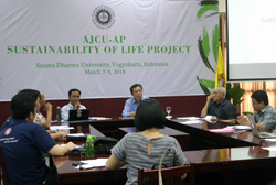 AJCU-AP Sustainability of Life Project :: usd.ac.id