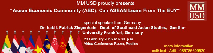 ASEAN ECONOMIC COMMUNITY :: usd.ac.id