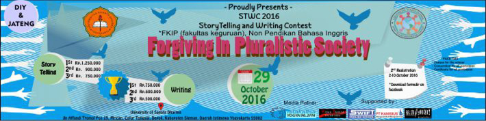 Storytelling and Writing Contest (STWC 2016) :: usd.ac.id