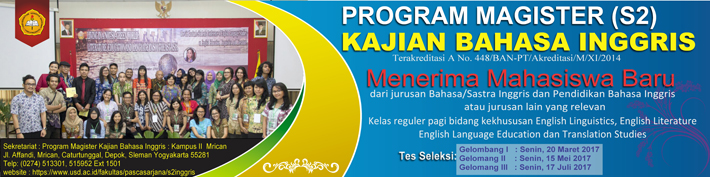 PMB Program Magister KBI :: usd.ac.id