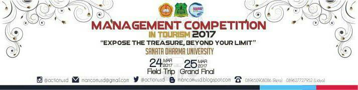 Management Competition In Tourism 2017 :: usd.ac.id