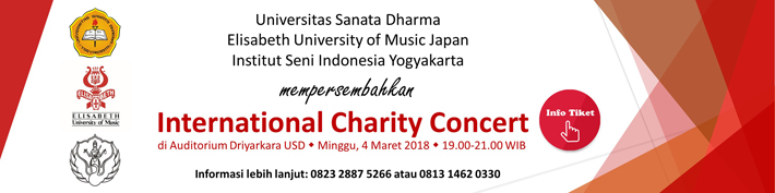International Charity Concert :: usd.ac.id