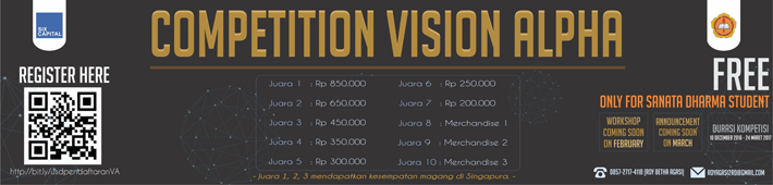 COMPETITION VISION ALPHA :: usd.ac.id