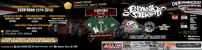 ENGINE TUNE UP 2017