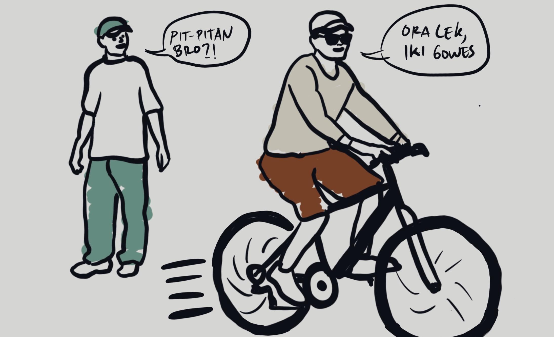 Peristiwa Atau Objek Apakah Yang Nampak Pada Kedua Gambar Diatas Sepeda Dan Motor Vbsxnwew0ql4fm